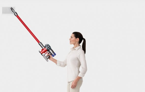 A demostration of the Dyson V6