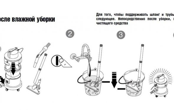 а вот инструкция по мойке